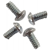 "10-24x3/8"" Round Slotted Retaining Clamp Screw"